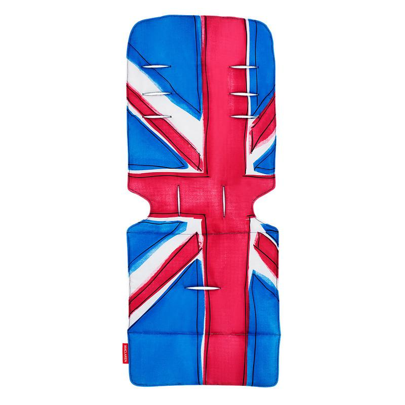 Maclaren Universal Seat Liner - Union Jack Princess Blue - CanaBee Baby