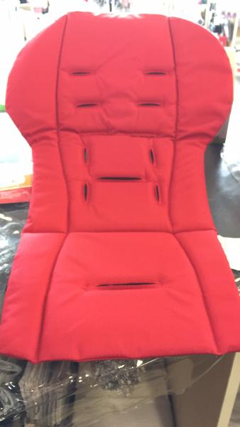 Phil & Teds Seat Liner (Main) for DOT Buggy - Chilli Red