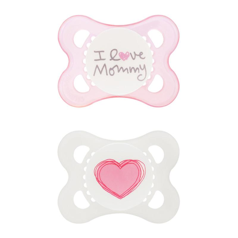 MAM Love & Affection Pacifier - Mommy Girl 0-6m - CanaBee Baby