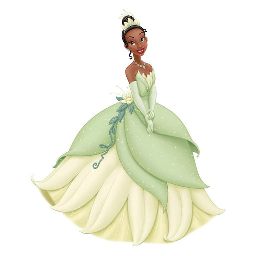 RoomMates Tiana Giant Wall Decal with 3D Butterflies