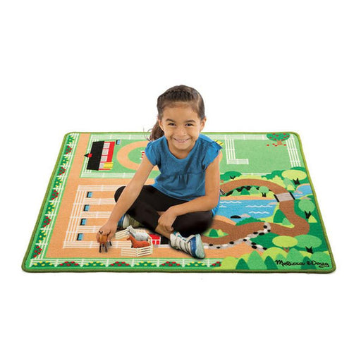 Melissa & Doug Round the Ranch Horse Rug - CanaBee Baby
