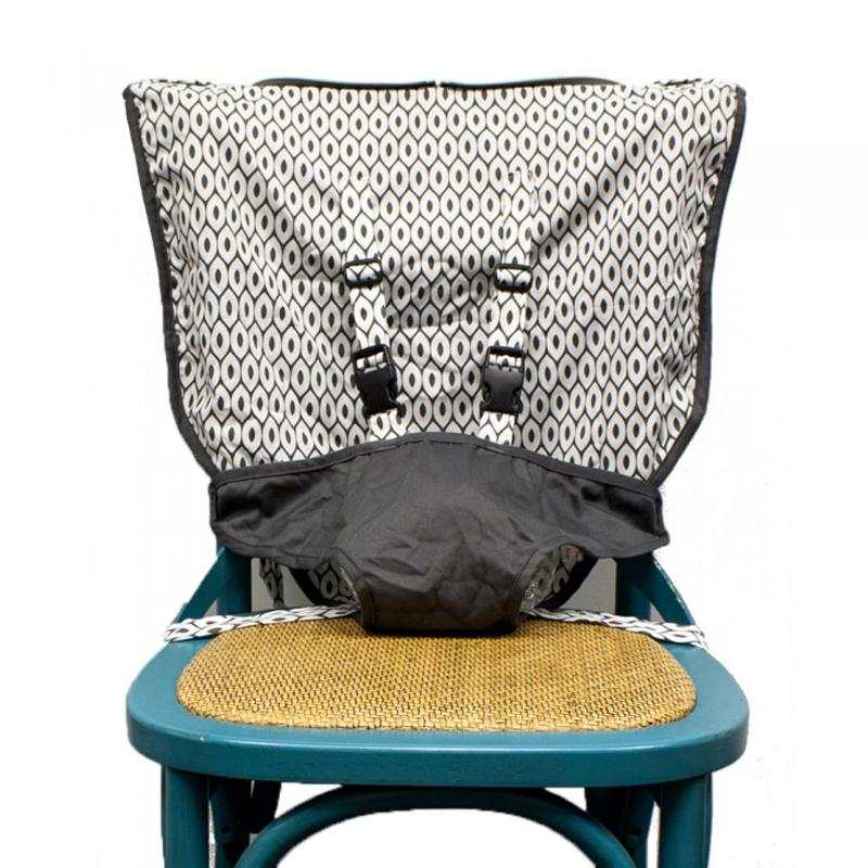 Mint Marshmallow Travel Seat- Slate Grey