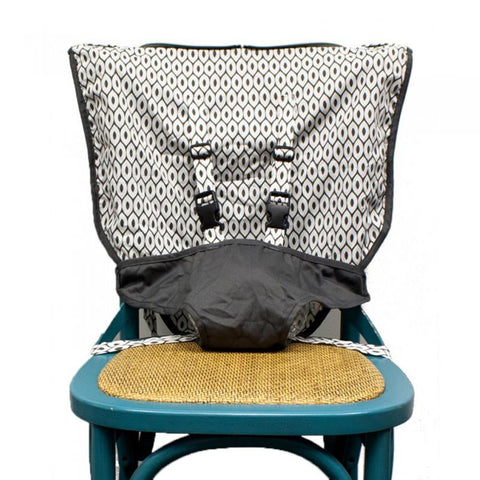 Mint Marshmallow Travel Seat- Slate Grey - CanaBee Baby