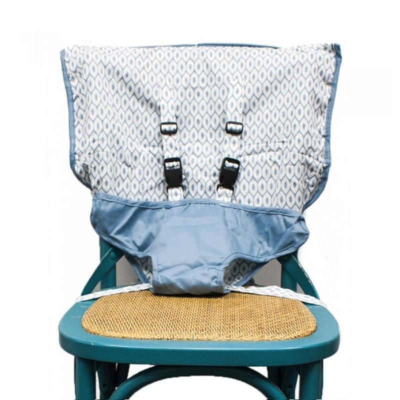 Mint Marshmallow Travel Seat - Steel Blue - CanaBee Baby