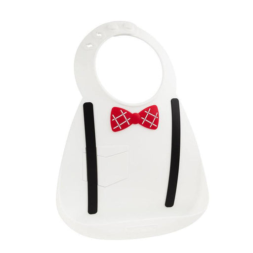 Make My Day Baby Bib - Little Genius White - CanaBee Baby