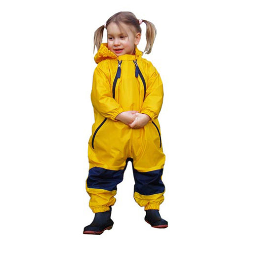 Muddy Buddy Raincoat - Yellow - CanaBee Baby