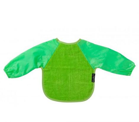 M2m Long Sleeved Wonder Bib - Green/Lime