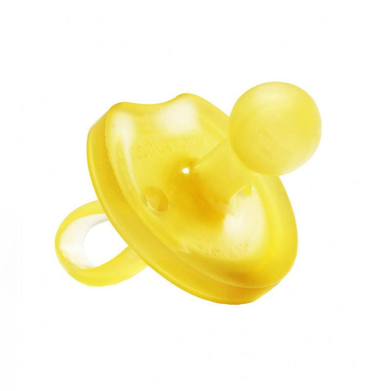 Natursutten Butterfly Rounded Pacifier 6-12m - CanaBee Baby