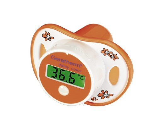 Geratherm Pacifier Thermometer - Daisy Color