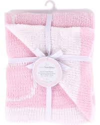 Piccolo Bambino Chenille Baby Blanket Pink PB1377GL