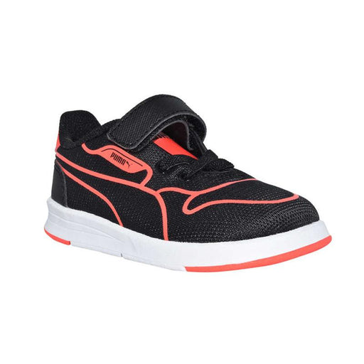 Puma Icra Evo Tech V Kids Black/Red - CanaBee Baby