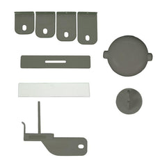 Qdos Adhesive Double Door Lock - Grey - CanaBee Baby