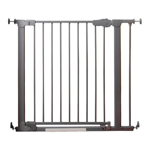 Qdos Auto-Close SafeGate Pressure Mounted Gate - Slate - CanaBee Baby
