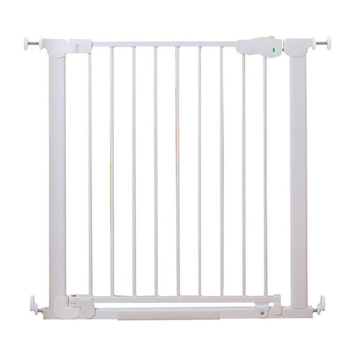 Qdos Auto-Close SafeGate Pressure Mounted Gate - White - CanaBee Baby