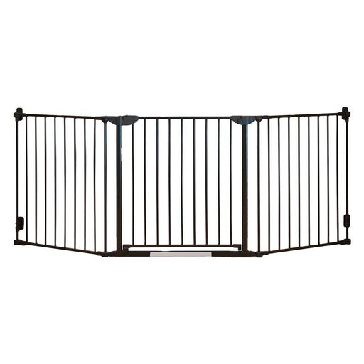 Qdos Construct-A-SafeGate Hardware Mounted Gate - Slate - CanaBee Baby