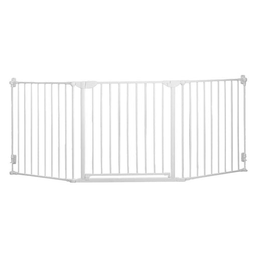 Qdos Construct-A-SafeGate Hardware Mounted Gate - White - CanaBee Baby