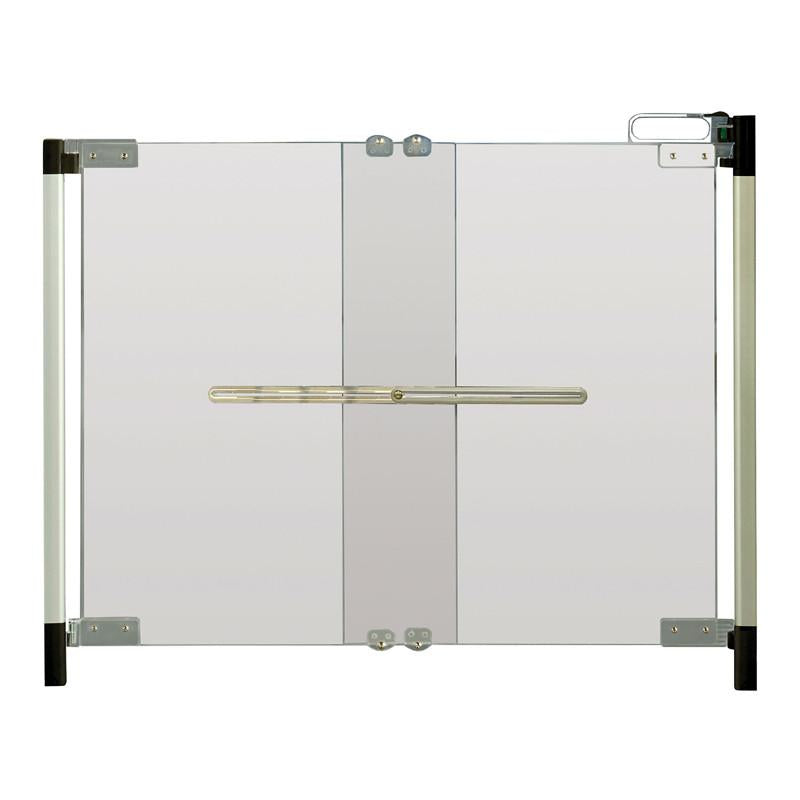 Qdos Crystal Hardware Mounted Gate - CanaBee Baby