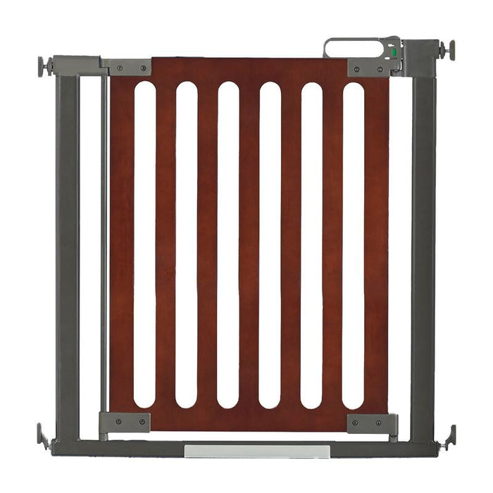 Qdos Spectrum Pressure Mounted Gate - Mahogany - CanaBee Baby