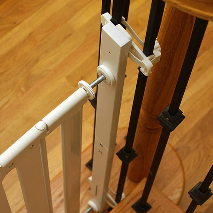 Qdos Stair Mounting Kit - White - CanaBee Baby
