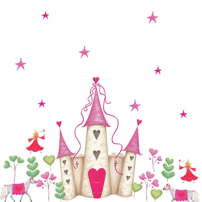 Roommates Princess Castle Byom Wall Appliques - CanaBee Baby