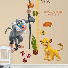 Roommates Lion King Growth Chart - CanaBee Baby