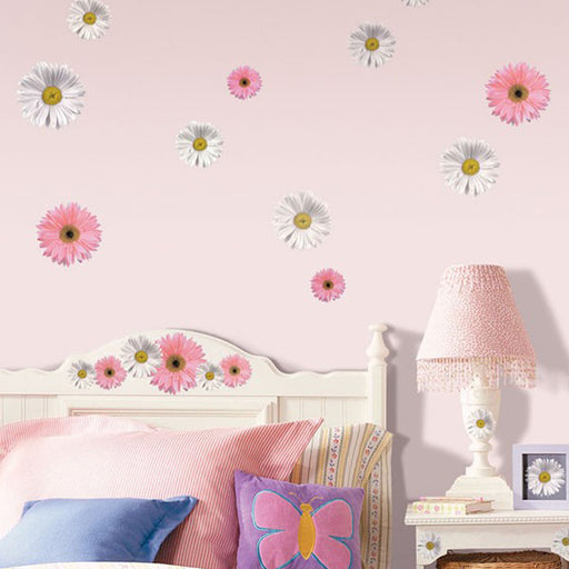 Roommates Flower Power Wall Appliques - CanaBee Baby
