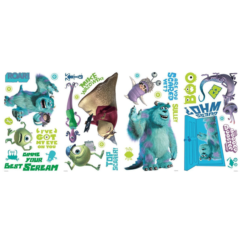 Roommates Monsters Inc Wall Appliques - CanaBee Baby