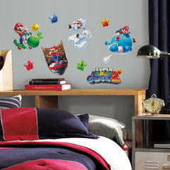 Roommates Super Mario Galaxy 2 Wall Decals - CanaBee Baby