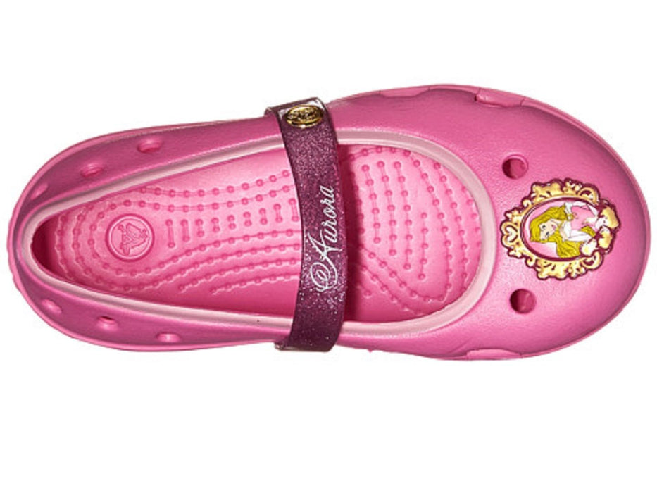 082589bc66eb95 Crocs Keeley Disney Princess Flat Party — CanaBee Baby