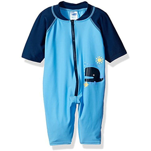 Iplay Sunsuit Blue Whale
