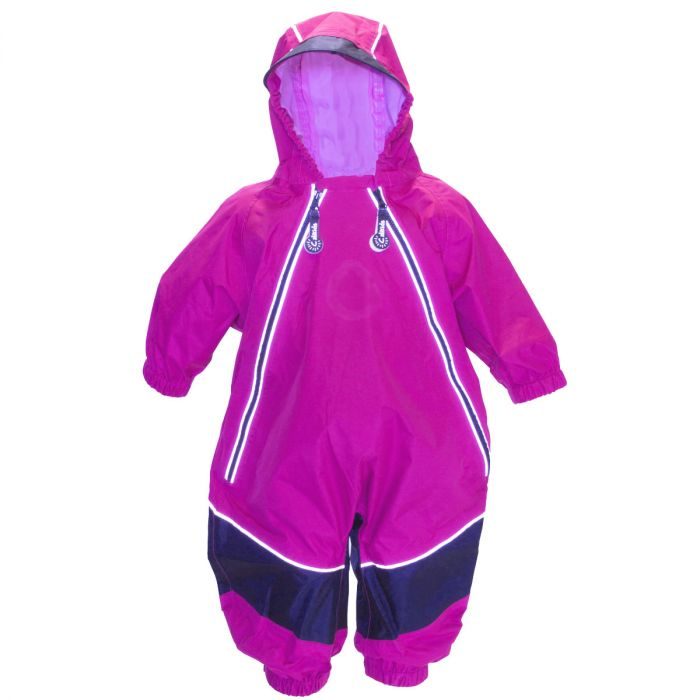Calikids S1657 Rain Coat Pink