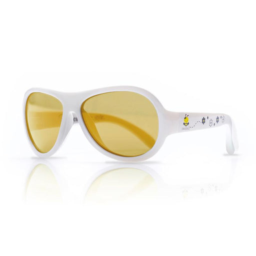 Shadez Designers Children Sunglasses - Busy Bee White - CanaBee Baby