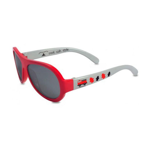 Shadez Designers Children Sunglasses - Fiery Firetruck Red - CanaBee Baby