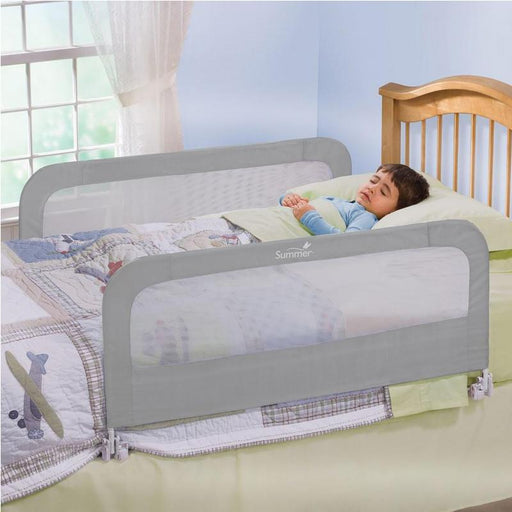 Summer Infant Double Safety Bed Rail - Grey - CanaBee Baby