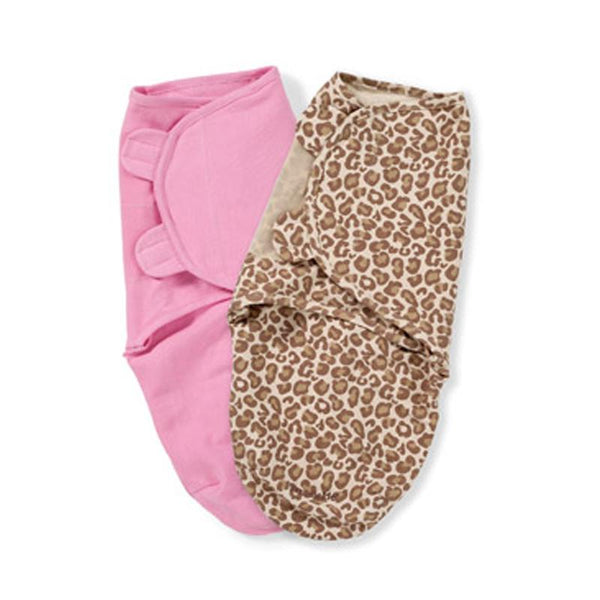 Summer Infant Swaddleme 2pk - Cheetah Girl - CanaBee Baby