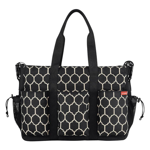 Skip Hop Duo Deluxe Double Diaper Bag - Onyx - CanaBee Baby