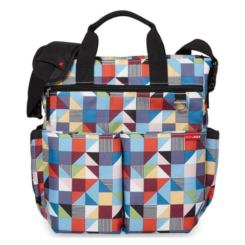 Skip Hop Duo Signature Diaper Bag - Prism - CanaBee Baby