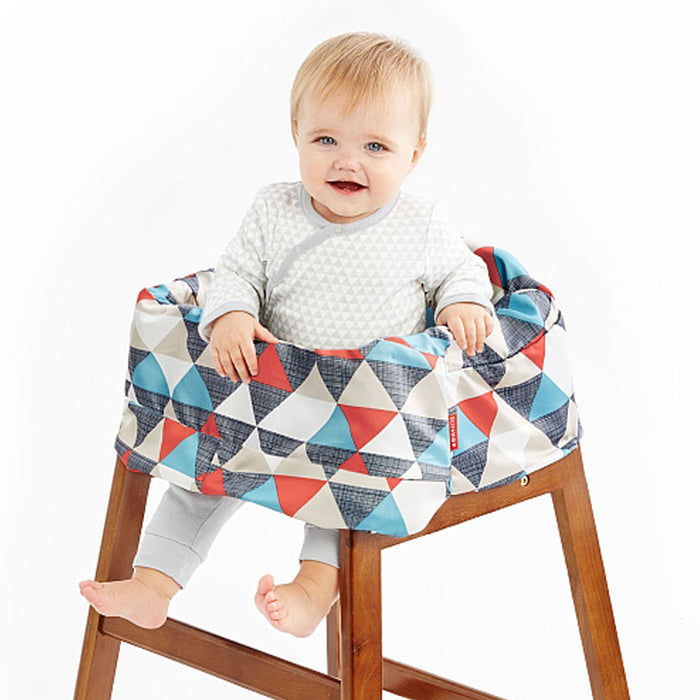 Skip Hop Take Cover Shopping Cart/High Chair Cover - CanaBee Baby