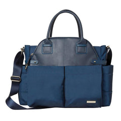 Skip Hop Chelsea Downtown Chic Diaper Satchel - Midnight - CanaBee Baby