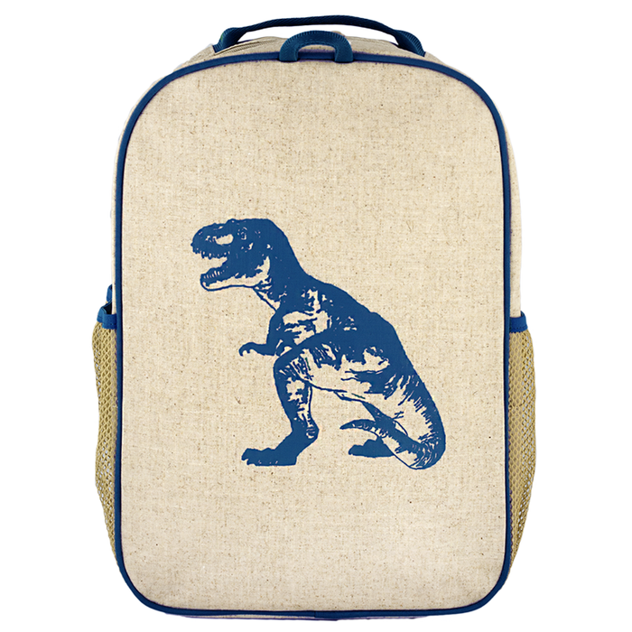 So Young Grade School Backpack - Blue Dinosaur - CanaBee Baby