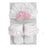 Stephan Baby Headband & Sock Set - Shabby Rose - CanaBee Baby