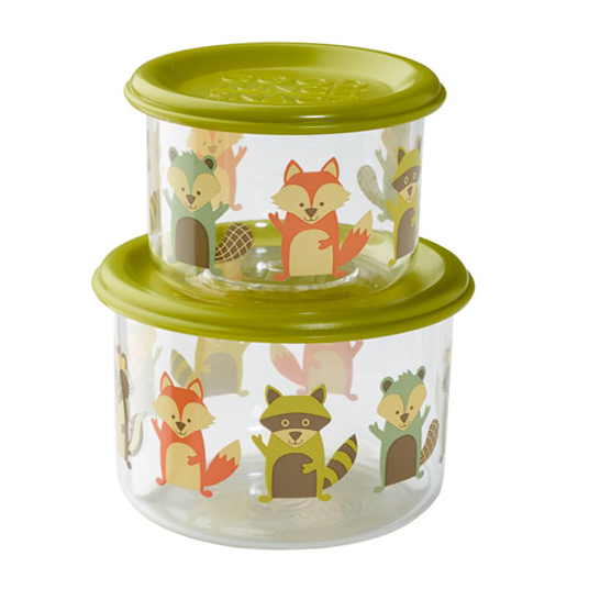 Sugarbooger Lunch Container Small - What did the Fox Eat?