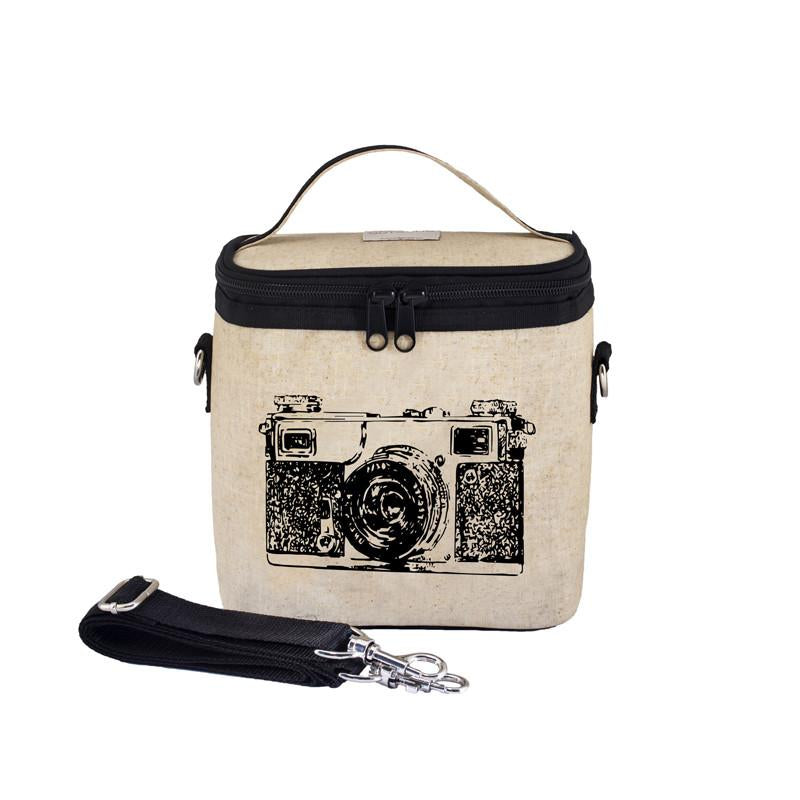 So Young Large Cooler Bag - Black Camera - CanaBee Baby