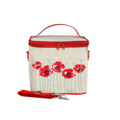 So Young Large Cooler Bag - Red Poppy - CanaBee Baby