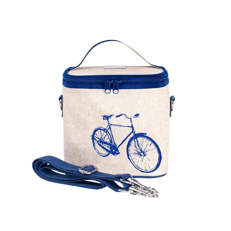 So Young Small Cooler Bag - Blue Bicycle - CanaBee Baby