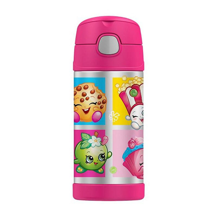 Thermos Funtainer Straw Bottle 12oz - Shopkins - CanaBee Baby