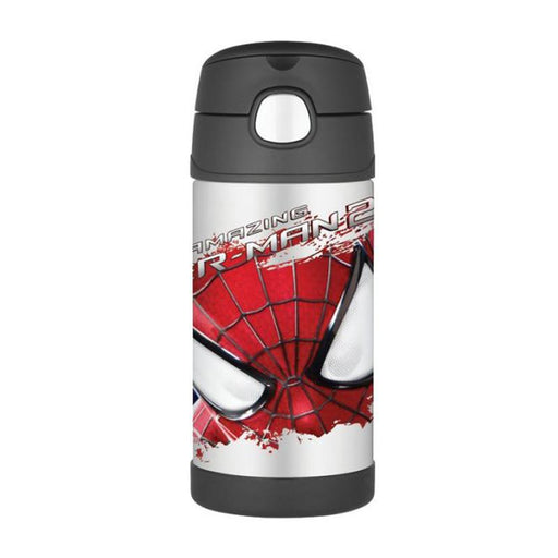 Thermos Funtainer Straw Bottle 12oz - Spiderman 2 - CanaBee Baby