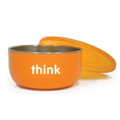 Thinkbaby Cereal Bowl - Orange - CanaBee Baby