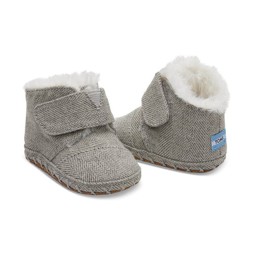 Toms Herringbone Tiny Cunas - Drizzle Grey - CanaBee Baby