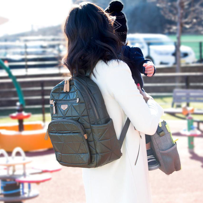 Twelve Little Companion Backpack - Olive - CanaBee Baby